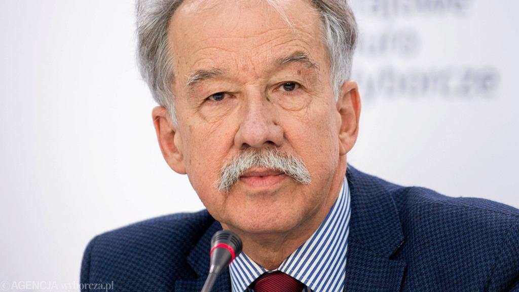 Wybory prezydenckie 2020. Wojciech Hermeliński, sędzia Trybunału Konstytucyjnego w stanie spoczynku, były przewodniczący Państwowej Komisji Wyborczej