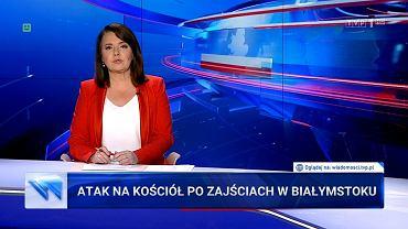 'Wiadomości' TVP z 24 lipca