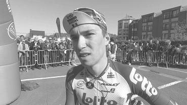 Bjorg Lambrecht nie żyje. Miał wypadek na trasie Tour de Pologne