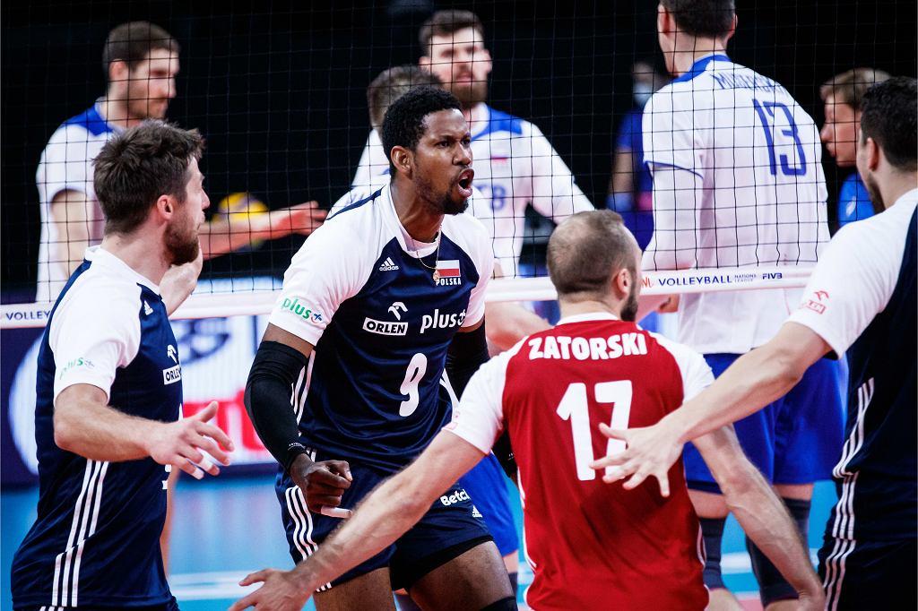 Liga Narodów: Rosja - Polska, siatkówka