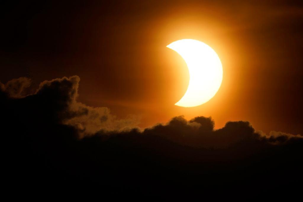 10.06.2021 Zaćmienie Słońca w Nowym Jorku