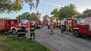 Wyjazd strażaków do Dobromyśla