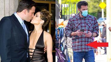 Jennifer Lopez przyłapana we flanelowej koszuli Bena Afflecka! Są zdjęcia. Powrót Bennifer już oficjalny?