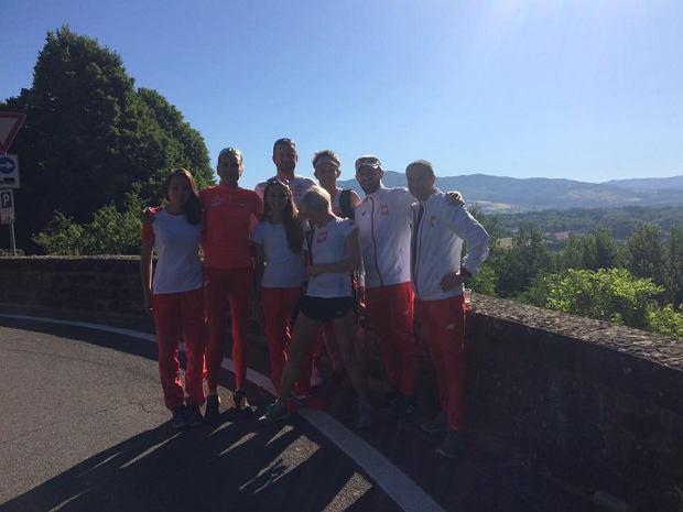 Polska ekipa przed startem