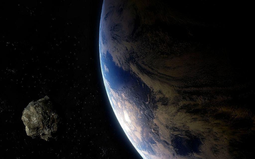 Asteroida zdjęcie poglądowe