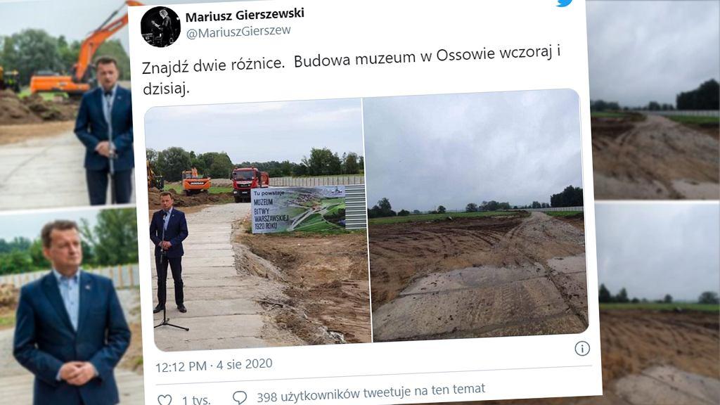 Budowa Muzeum Bitwy Warszawskiej