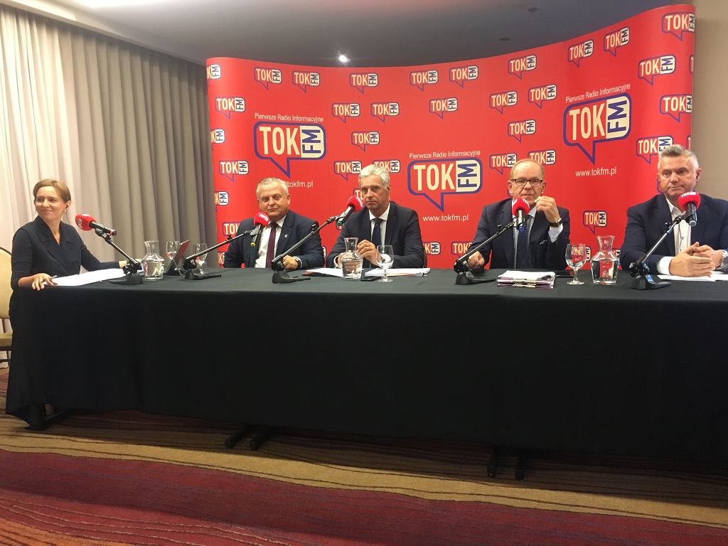 Debata z cyklu Usłysz Swojego Posła, organizowana przez TOK FM w Rzeszowie