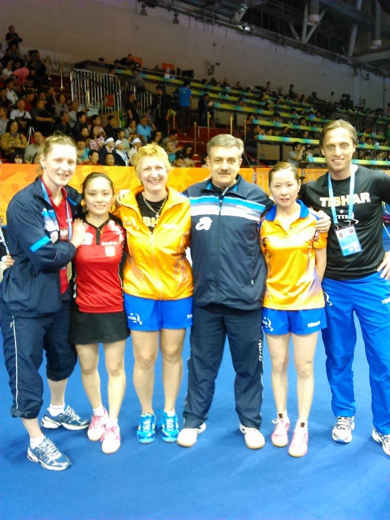 Li Qian zdobyła brązowy medal mistrzostw świata w grze deblowej