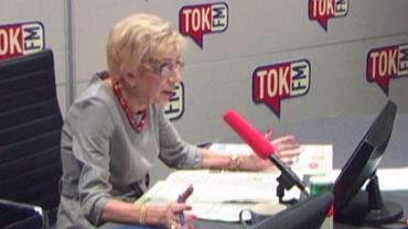 """Janina Paradowska w """"Poranku Radia TOK FM"""""""