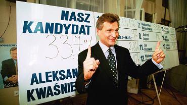 Aleksander Kwaśniewski, 1995 r.