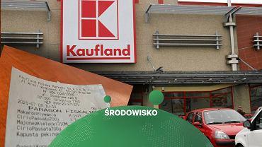 Niebieskie paragony w sklepach Kaufland