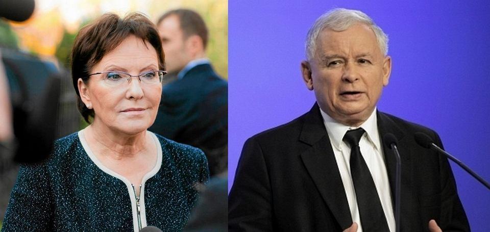 Ewa Kopacz, Jarosław Kaczyński