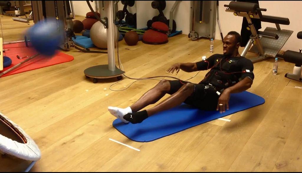 Usain Bolt korzysta z technologii EMS.