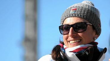 Justyna Kowalczyk na treningu stylem klasycznym
