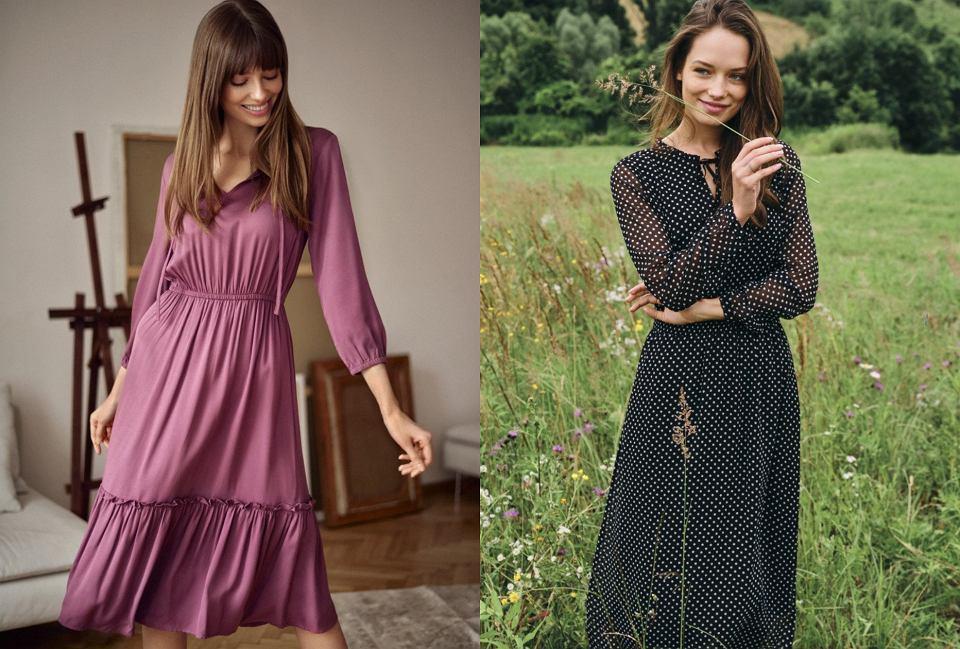 sukienki dla pań po 50-tce