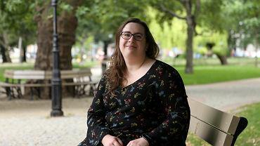 Weronika Witkowska ze Stowarzyszenia Kulturalno-Edukacyjnego 'Chowaniec'
