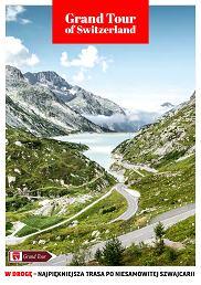 """Darmowy przewodnik """"Grand Tour of Switzerland"""" - kliknij w okładkę (fot. Materiały prasowe)"""