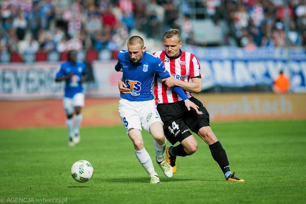 Cracovia - Lech Poznań 2:0. Szymon Pawłowski i Paweł Jaroszyński