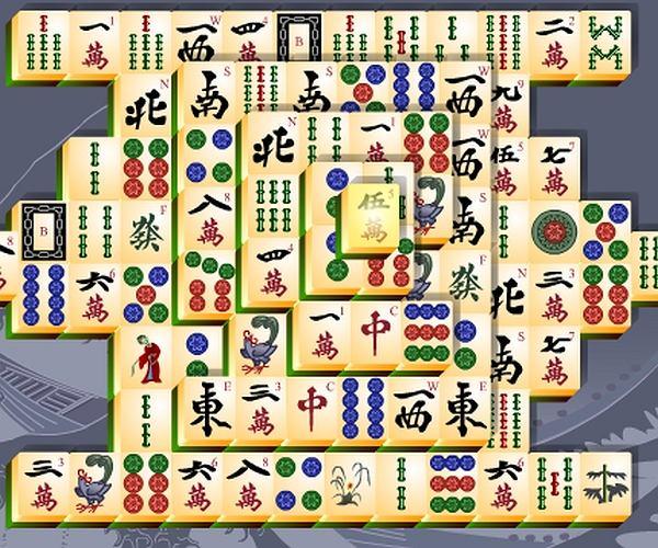 Klasyczny Mahjong 4