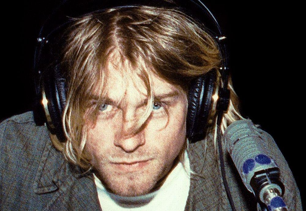 Kurt Cobain w 1991 roku