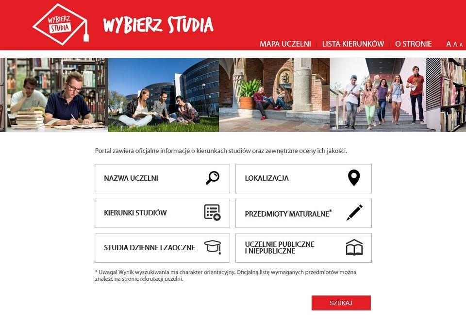 Portal Wybierz Studia