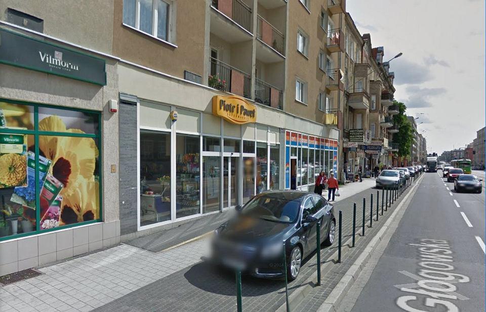Pierwszy sklep Piotr i Paweł, ul. Głogowska w Poznaniu