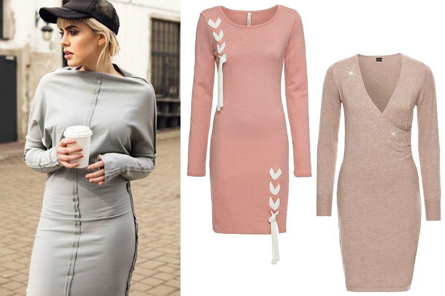 Sukienki dzianinowe to idealny wybór na zimę!