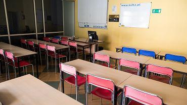 Szkoły a koronawirus. Zdjęcie ilustracyjne