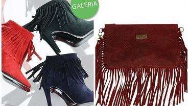 Buty i torebki z frędzlami marki Venezia
