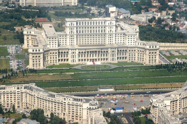 Pałac Parlamentu, Rumunia