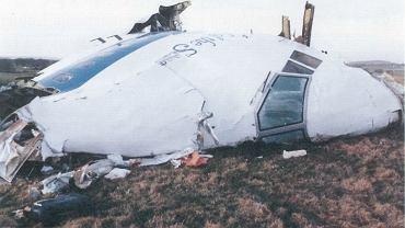 Największy fragment zniszczonego B747