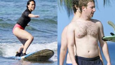 Priscilla Chan i Mark Zuckerberg.