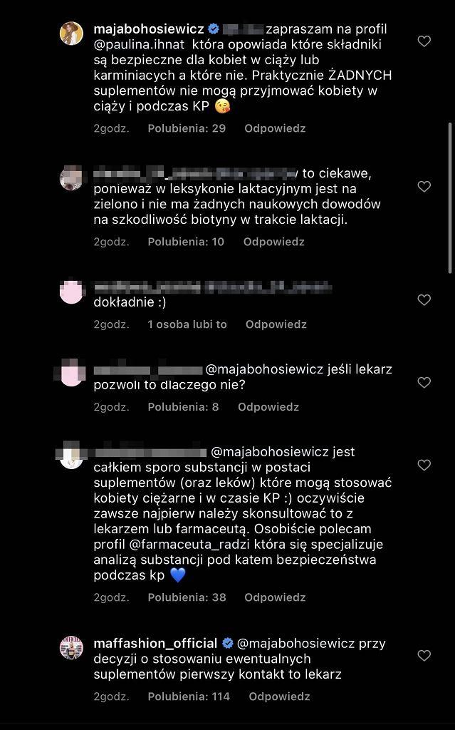 Maffashion i Maja Bohosiewicz dyskutują o suplementach