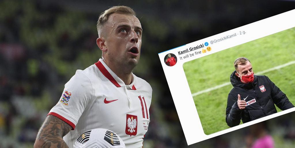 Kamil Grosicki przemówił na Twitterze