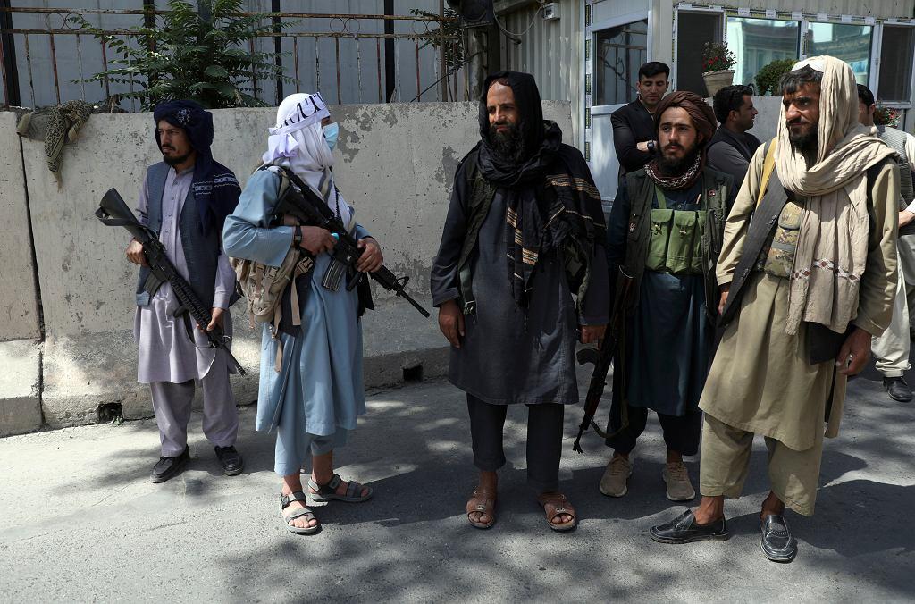 Talibowie na ulicach Kabulu. Afganistan, 16 sierpnia 2021