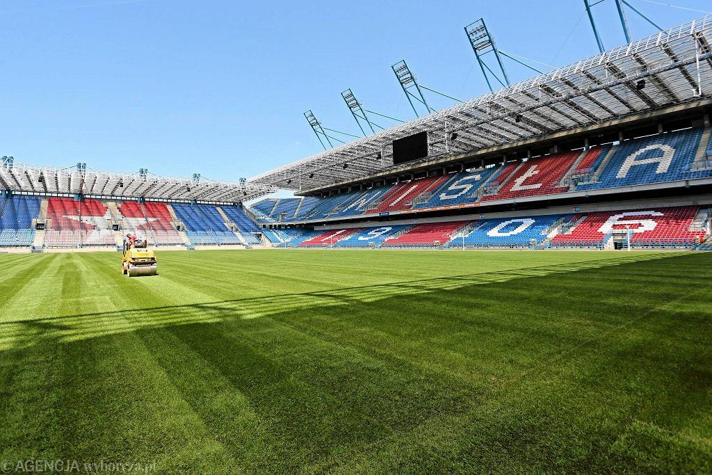 Murawa stadionu Wisły gotowa na mecz Polska - Litwa, ostatni test przed Euro 2016