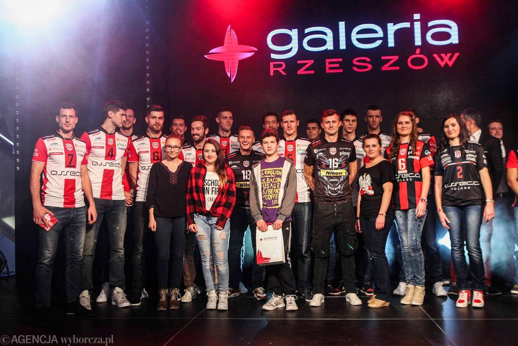 Prezentacja siatkarzy Asseco Resovii przed sezonem 2015/2016