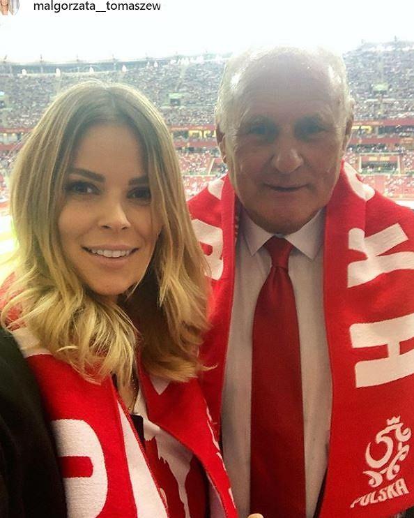 Małgorzata Tomaszewska z tatą