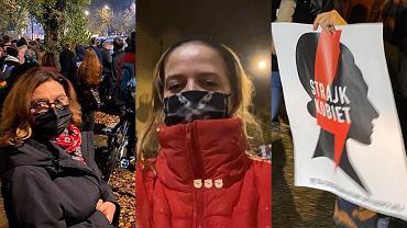 Gwiazdy protestują po wyroku TK ws. aborcji. Na ulice Warszawy wyszli m.in. Trzaskowscy, Musiał, Zborowska