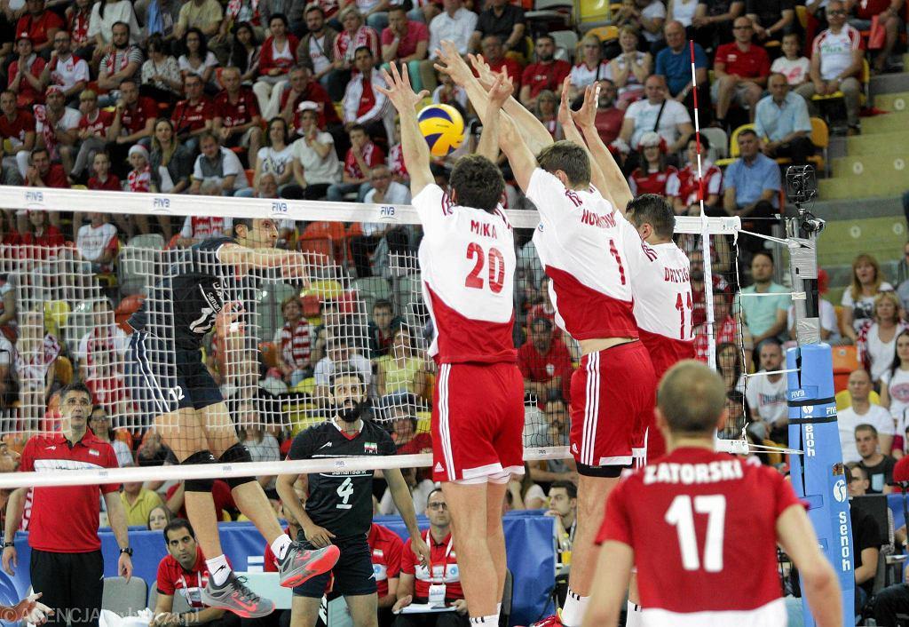 Hala Sportowa Częstochowa, mecz Polska - Iran