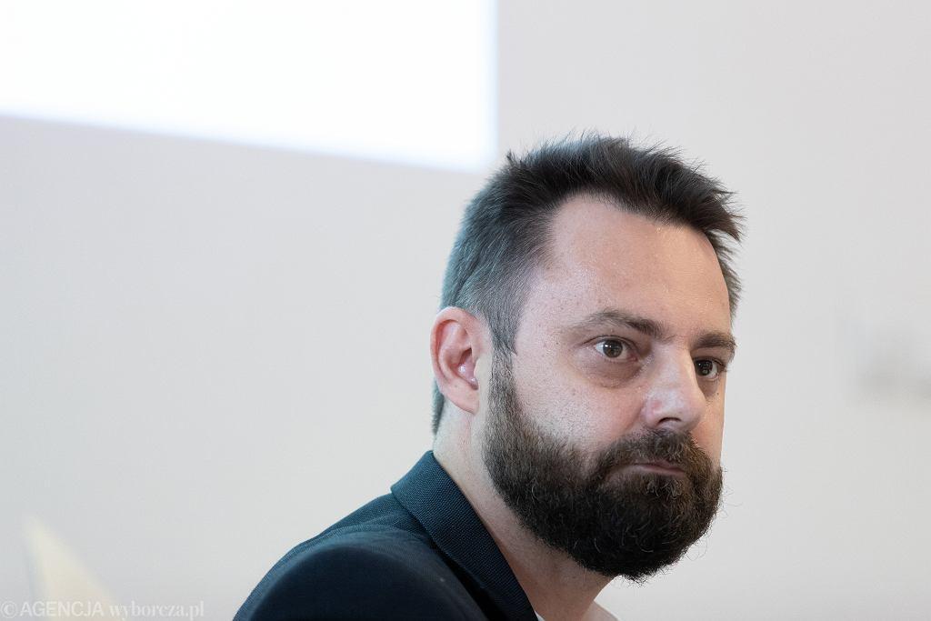 Dyrektor Centrum Sztuki Współczesnej Piotr Bernatowicz