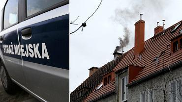 Dym z komina - interwencja
