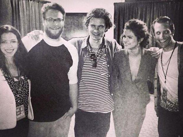 Seth Rogen, Orlando Bloom i Selena Gomez