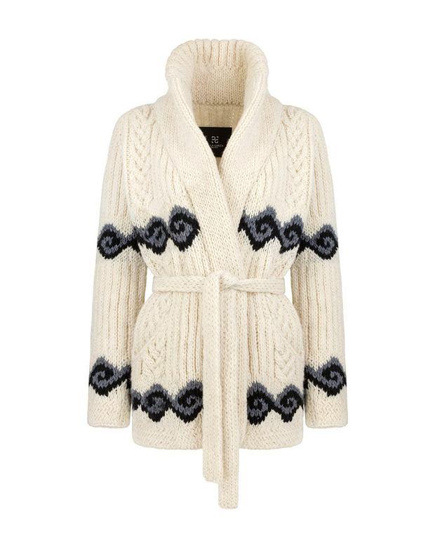 Sweter wełniany De La Garza. Cena: 1000 zł
