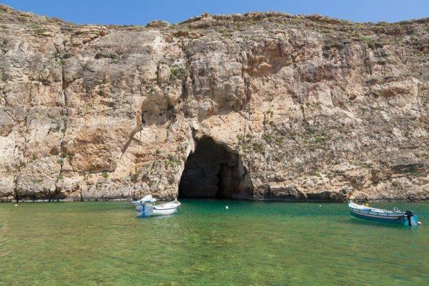 Przesmyk między otwartym morzem a morzem lądowym, Gozo/ Fot. Shutterstock