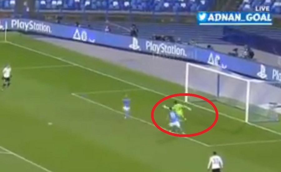 Gol Arkadiusza Milika w meczu 6. kolejki fazy grupowej Ligi Mistrzów