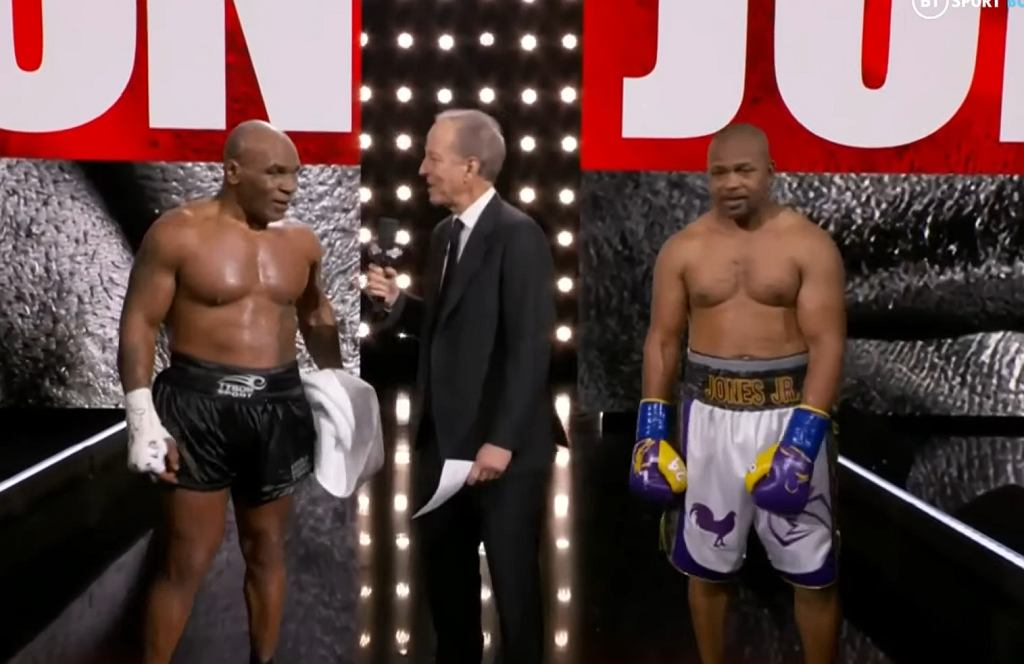 Tyson vs RJJ