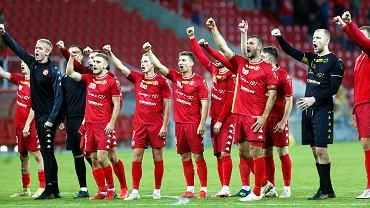 Widzew Łódź liderem pierwszej ligi po efektownej wygranej z beniaminkiem