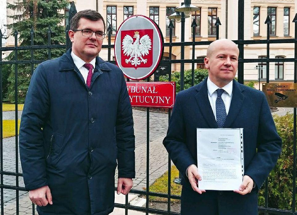 Bartłomiej Wróblewski i Piotr Uściński