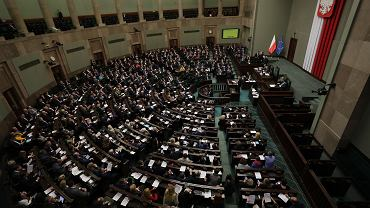 Sala Posiedzeń Sejmu.